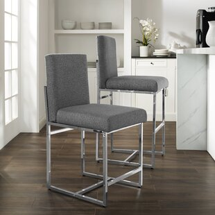 Rosalva 30 Bar Stool Orren Ellis