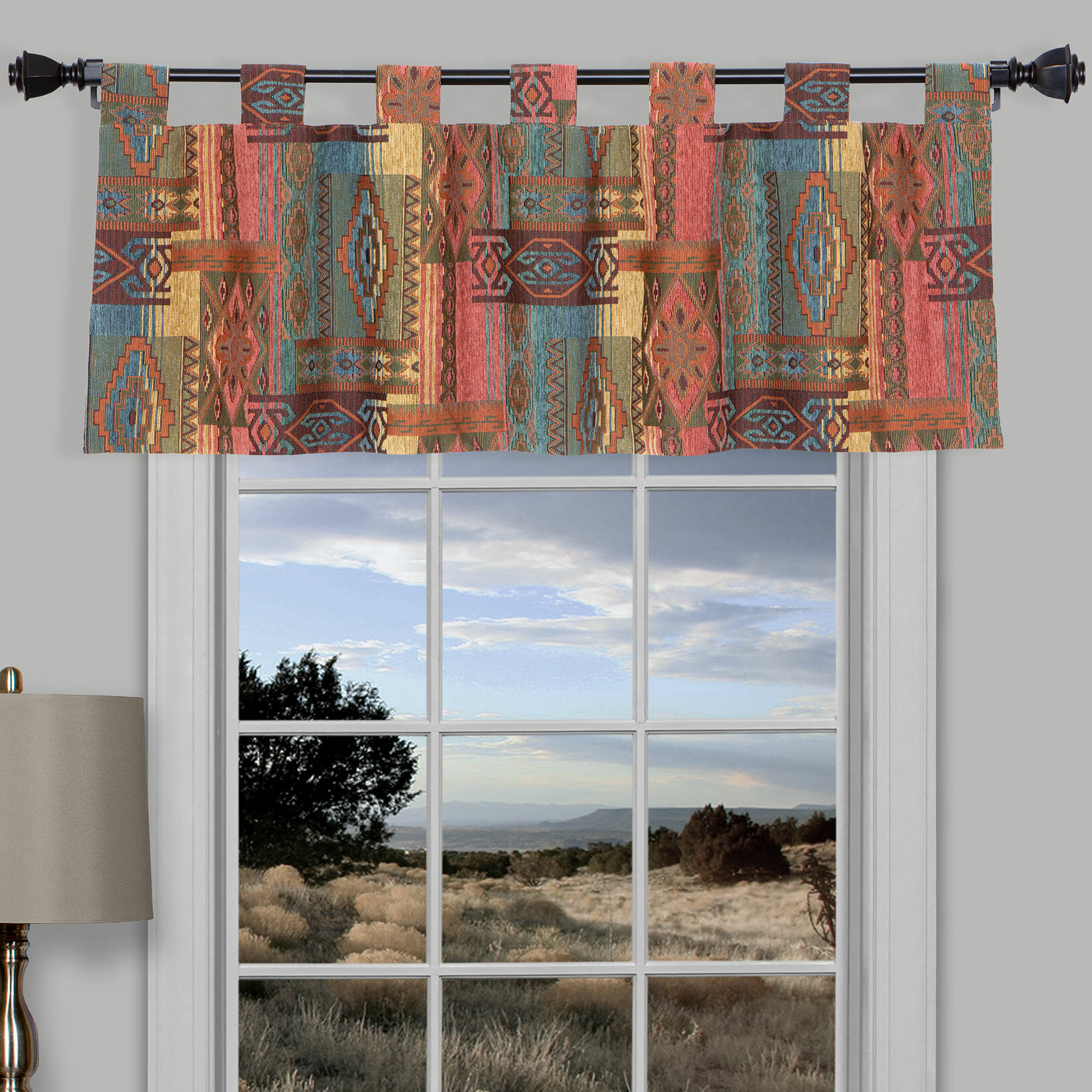 Thomasville At Home Tab Valance Wayfair