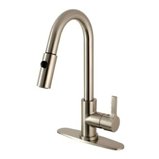 Kingston Brass Continental Pull Down Single Handle Kitchen Faucet