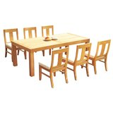Javion 7 Piece Teak Dining Set