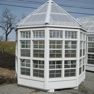 Little Cottage Company 8 Ft. W x 8 Ft. D Greenhouse