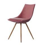 Velvet Upholstered Side Chair (Set of 2) by H.J Wedoo