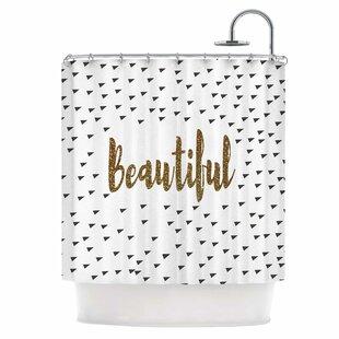Beautiful Single Shower Curtain