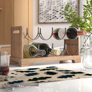 Biggs 8 Bottle Tabletop Wine Rack