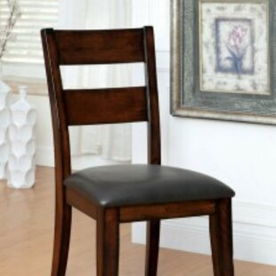 McFetridge Upholstered Dining Chair (Set of 2) Millwood Pines