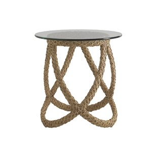 Aviano Wicker Side Table