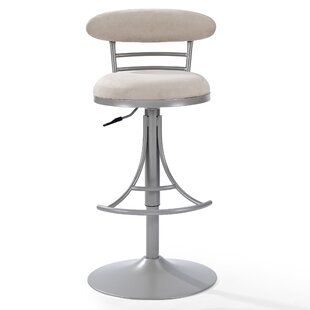 Jasper Adjustable Height Swivel Bar Stool