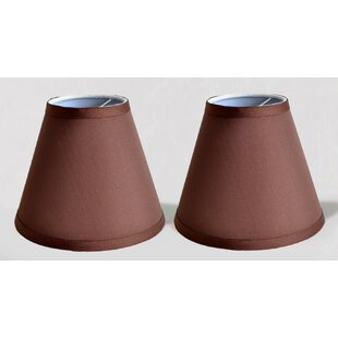 Compare 6 Satin Empire Clip-on Lamp Shade (Set of 2) By Symple Stuff