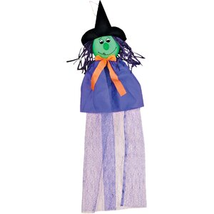 Hanging Halloween Witch Figure