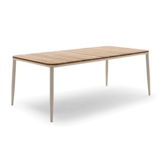 Tosca Solid Wood Dining Table by Mindo USA, Inc.
