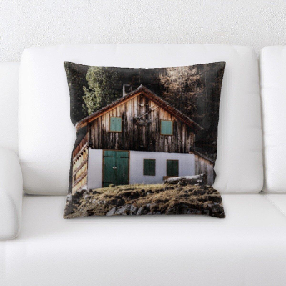 Green Rustic Throw Pillows You Ll Love In 2021 Wayfair