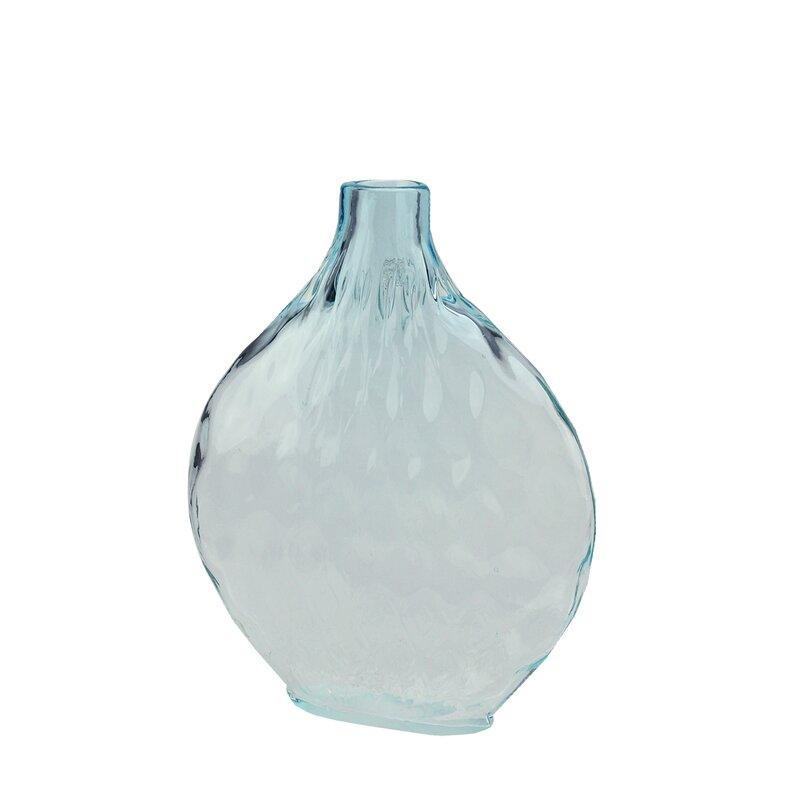Northlight Disc Shaped Ombr Hand Blown Glass Vase Reviews Wayfair