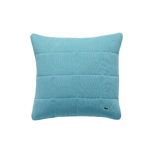 Chantaco Quilted Pique Cotton Throw Pillow