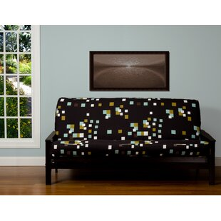 Pattern Zipper Box Cushion Futon Slipcover