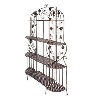 Cheddington 4 Shelf Iron Baker's Rack by Ophelia & Co.