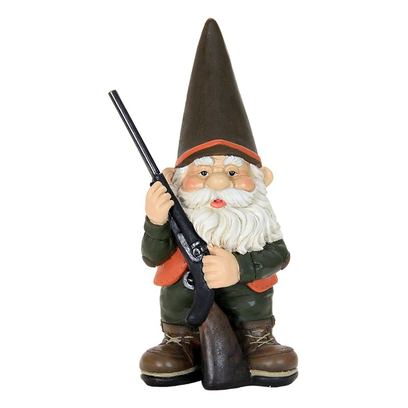 Exhart Hunting Gnome & Reviews   Wayfair on