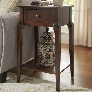 Hague End Table With Storage