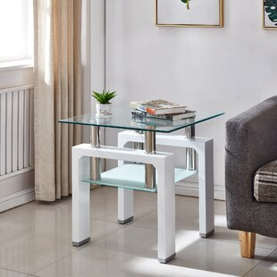 Trend Perla End Table By Orren Ellis