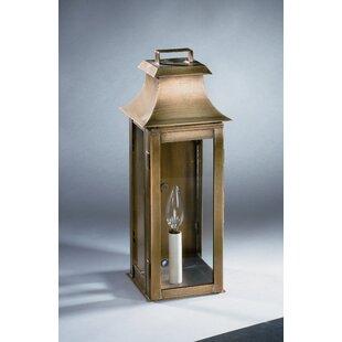 Best Price Concord 1-Light Outdoor Flush Mount By Northeast Lantern