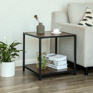 Landrum Metal Frame End Table