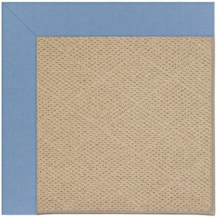Lisle Machine Woven Blue/Beige Indoor/Outdoor Area Rug