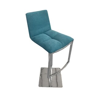 Jaycee Adjustable Height Swivel Barstool ..