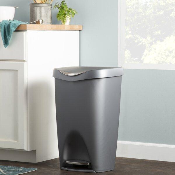 Large Retro Trash Can | Wayfair