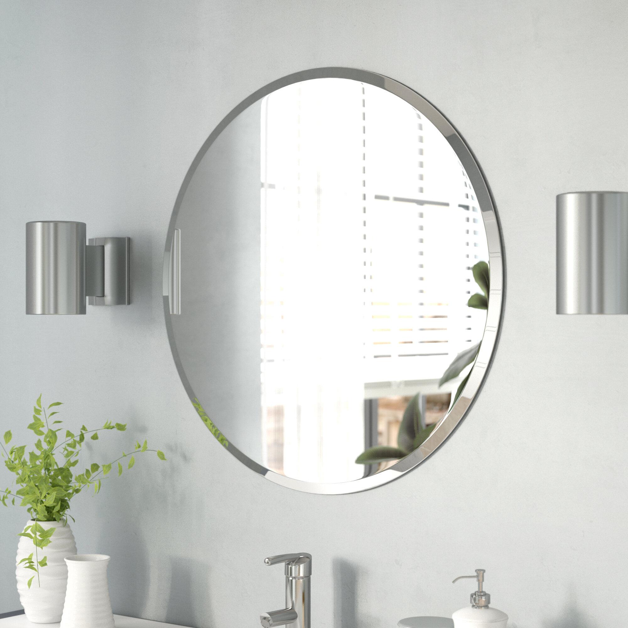 Bathroom Vanity Round Mirrors You Ll Love In 2021 Wayfair
