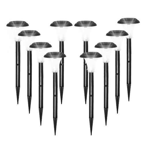 Halo Solar Lights â?? Plastic with White LEDs Pack of 8 OE