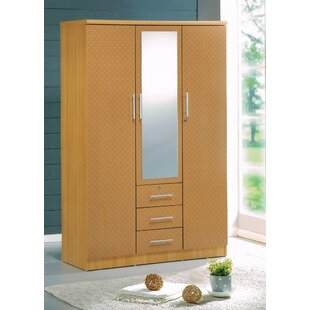 Latitude Run Rasmussen 3 Door Armoire