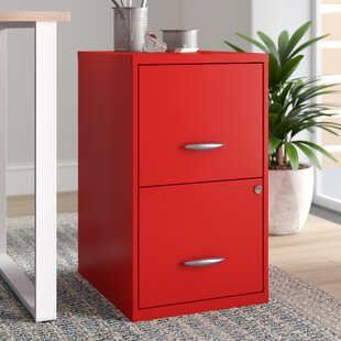 Zimmer Deep 2-Drawer Vertical Filing Cabinet