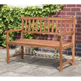 Caiden Wooden Bench By Sol 72 Outdoor