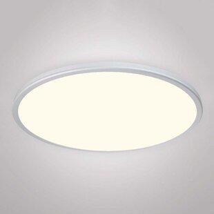Orren Ellis Truelove 1 Light Flush Mount