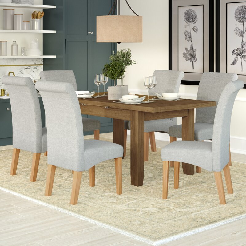 Marvelous Berwick Extendable Dining Table And 6 Chairs Download Free Architecture Designs Intelgarnamadebymaigaardcom