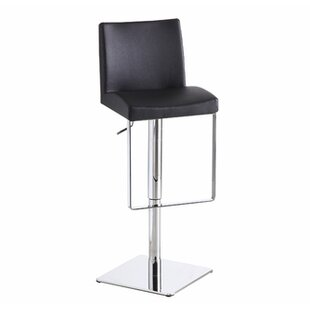 Hosler Hydraulic Adjustable Height Swivel Bar Stool Orren Ellis