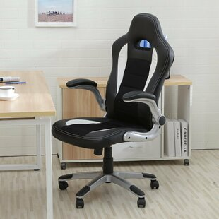 High-Back Gaming Chair by Ebern Designs Best #1