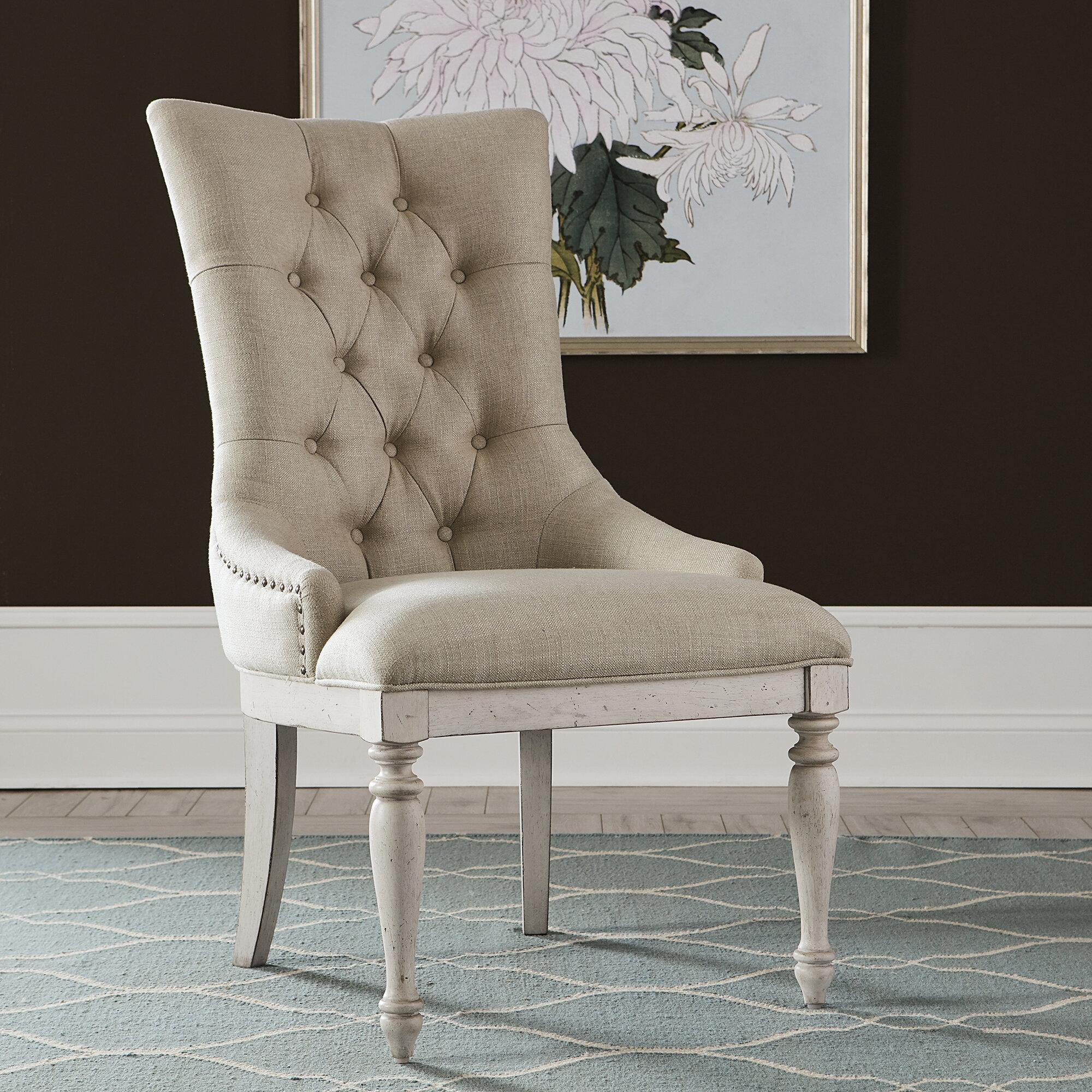 Birch Lane Maye Upholstered Dining Chair Reviews Wayfair
