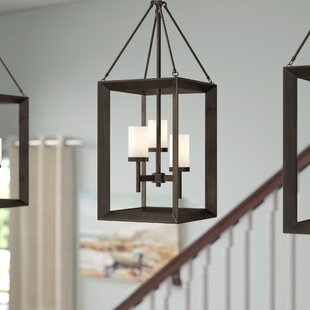 Thorne 3 Light Gunmetal Bronze Foyer Pendant