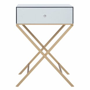 Perry Side Table With Storage By Canora Grey