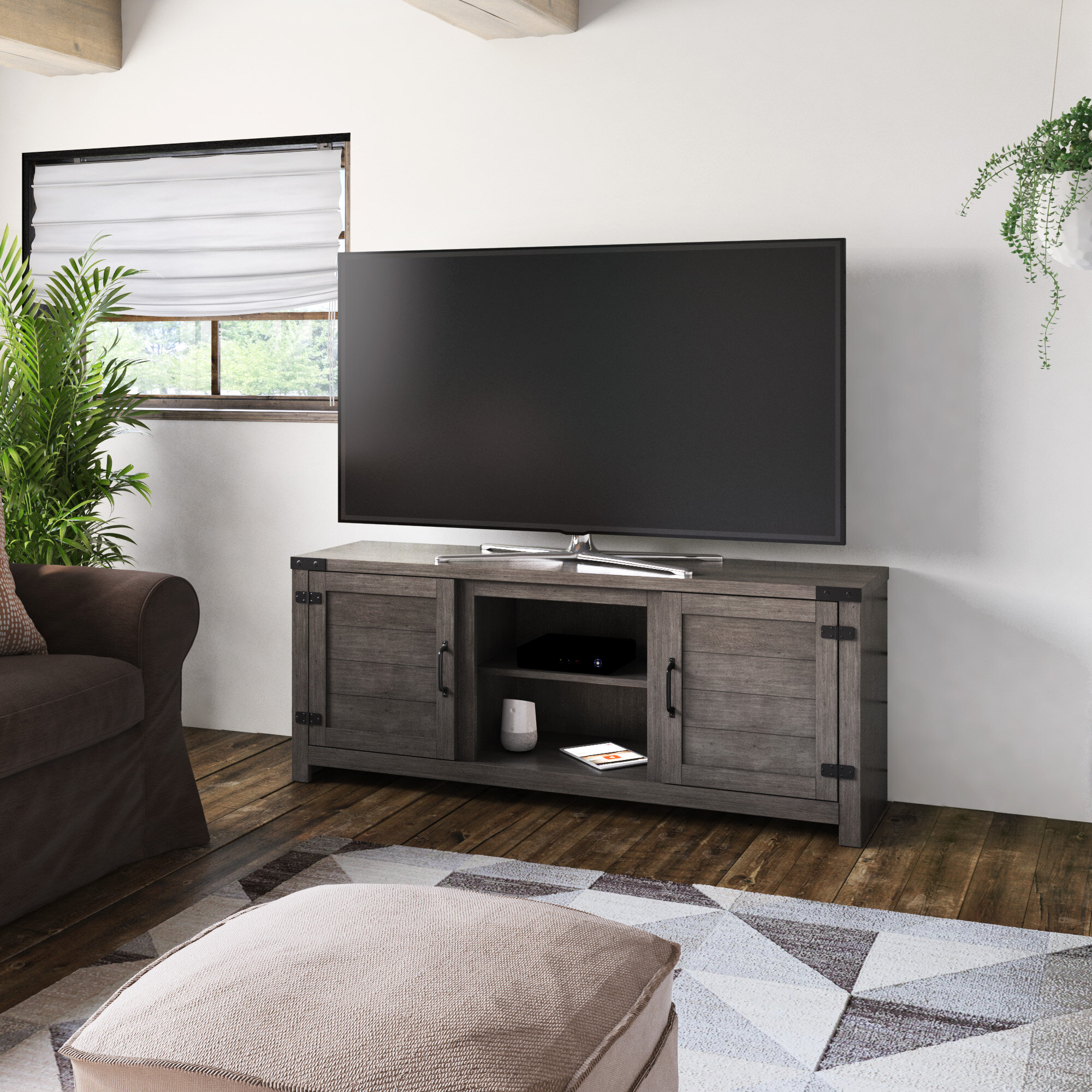 Grey Tv Stands Entertainment Centers You Ll Love In 2021 Wayfair