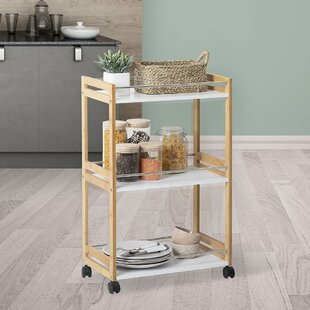 Wilfred Kitchen Trolley With Manufactured Wood Top By Belfry Kitchen