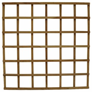 Diamond Teak Wood Lattice Panel Trellis