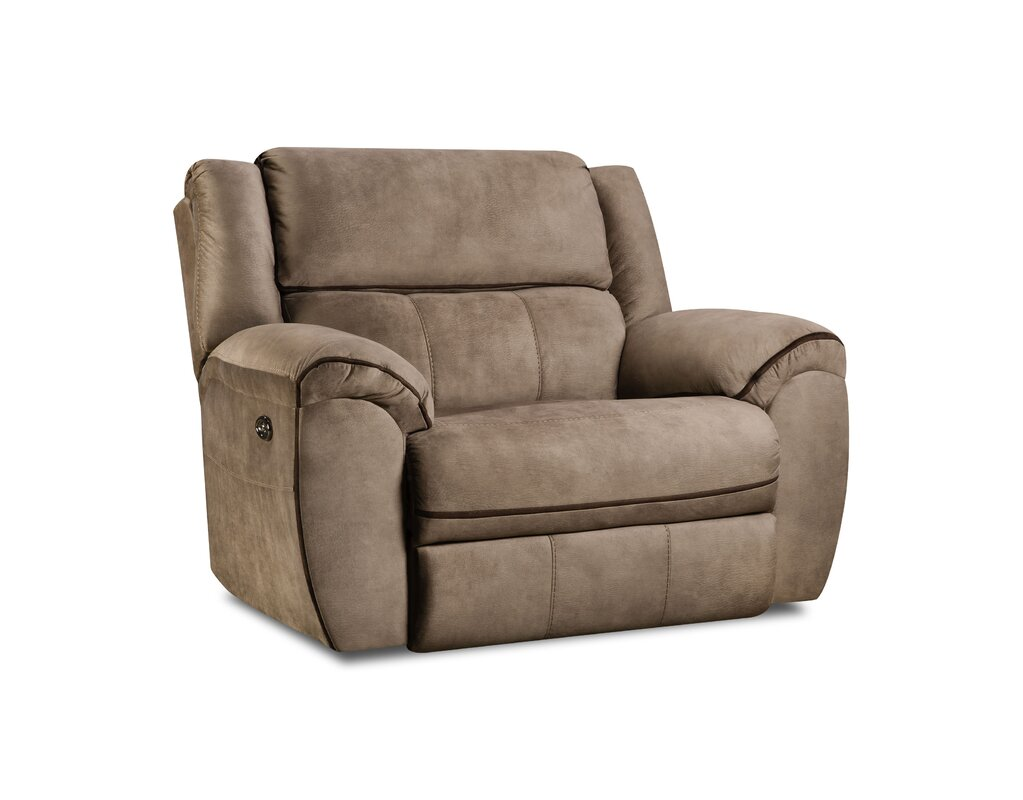 Simmons Genevieve Power Cuddler Recliner  sc 1 st  Wayfair & Oversized Recliners Youu0027ll Love | Wayfair islam-shia.org
