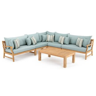 Mcclellan 6 Piece Sectional Seating Group with Cushions