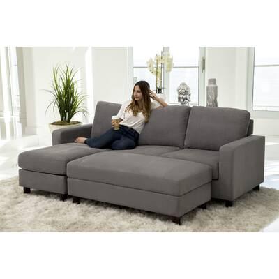 Superb Amanda Right Hand Facing Sleeper Sectional Reviews Allmodern Pdpeps Interior Chair Design Pdpepsorg