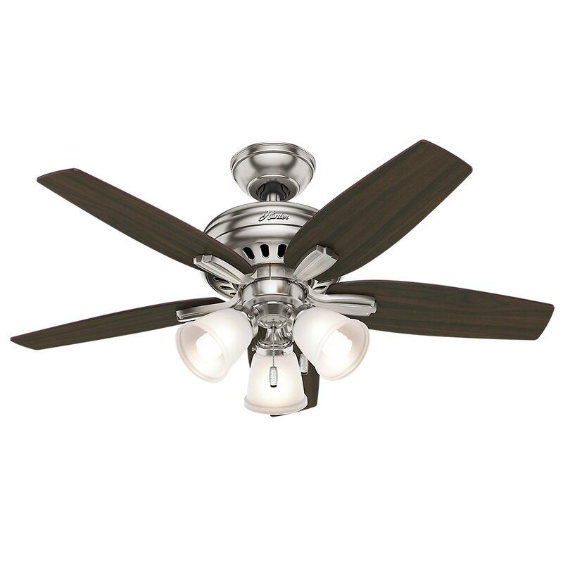 Hunter fan 42 newsome 5 blade ceiling fan reviews wayfair 42 newsome 5 blade ceiling fan aloadofball Image collections