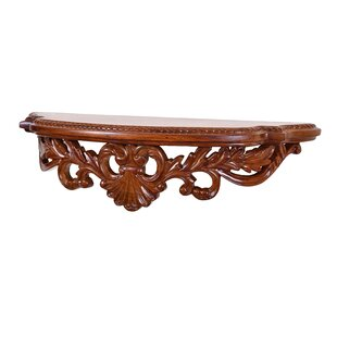 The Silver Teak European Wall Console