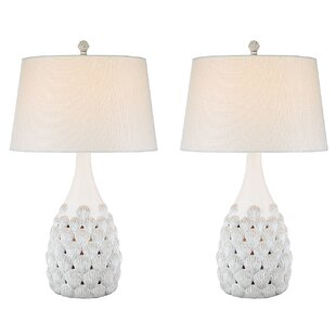 Resendez Shell Coastal 31 Table Lamp (Set of 2)