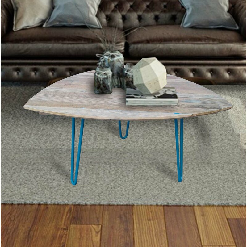 Foundry Select Burg Hand Crafted Reclaimed Wood Coffee Table | Wayfair