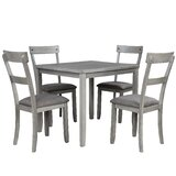 Harrodsburg 5 - Piece Dining Set by Red Barrel Studio®
